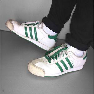 OG Vintage Adidas Samoa Green/White